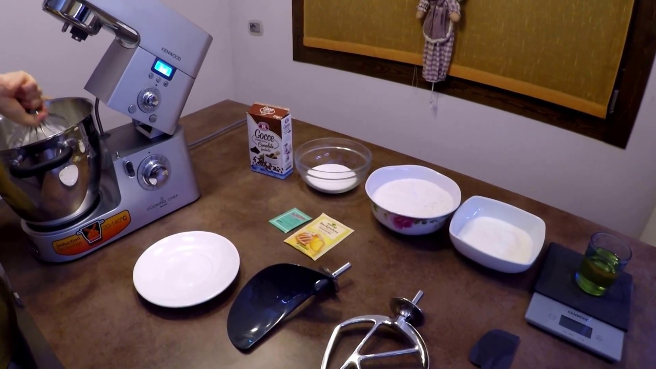 Video Ricette - kenwood cooking chef torta yogurt cioccolato ...