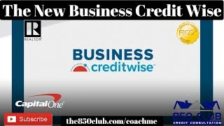 The New Business Credit Software That's Better Than Nav.com? Capital One Credit Wise