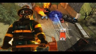 Fire Department (Fire Chief/Emergency Fire Response) - Toxic Train #2 - Frickin´Nightmare