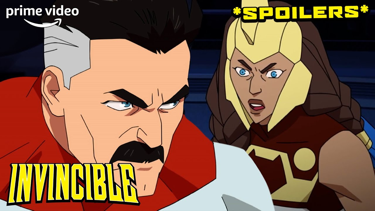 Download That Totally Unexpected Ending From Episode 1 of Invincible (SPOILERS) | Prime Video