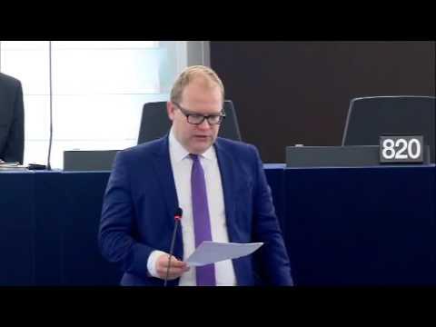 Urmas Paet 21 Nov 2016 plenary speech on European Defence Union