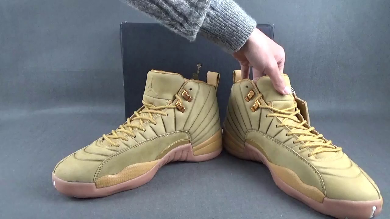 "the best attitude db208 fca2e PSNY x Air Jordan 12 ""Wheat"" Unboxing Review"