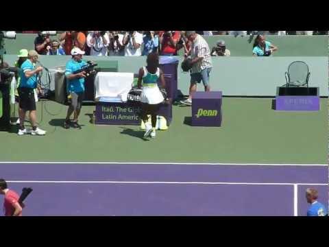 Maria Sharapova vs Serena Williams, Miami - Sony Ericsson Open 2013 final.