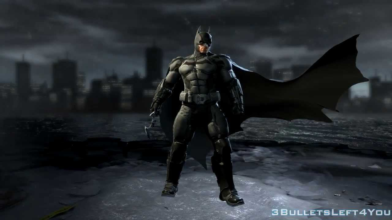 Batman Arkham Origins Character Trophies HD - YouTube