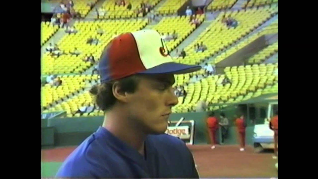 Expos Rookie Randy St Claire - 1985