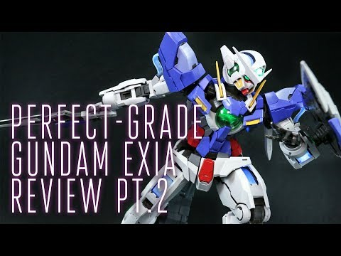 1420 - PG Gundam Exia Lighting Model (OOB Review Pt.2)
