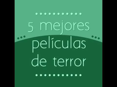 5 mejores películas de terror