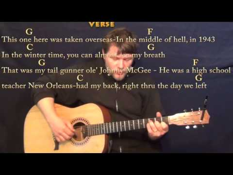 In Color (Jamey Johnson) Fingerstyle Guitar Cover Lesson in G with Chords/Lyrics