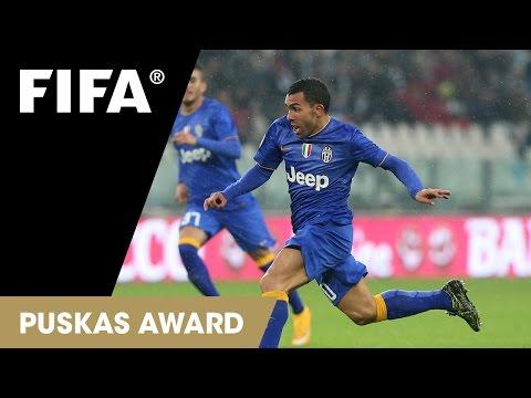 Carlos Tevez Goal: FIFA Puskas Award 2015 Nominee