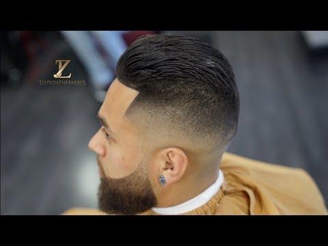 Super Clean Mens Haircut! ALL NATURAL!!