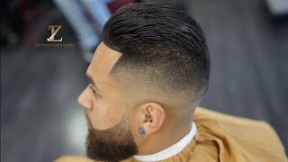 Super Clean Mens Haircut! ALL NATURAL!!
