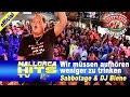 Ballermann Hits - Wir müssen aufhören weniger zu trinken - Sabbotage | Sabbotage, mit seinem riesen Hit 2014