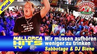 Ballermann Hits - Wir müssen aufhören weniger zu trinken - Sabbotage