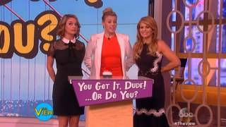 Jodie Sweetin - The View 2-26-16 part 1