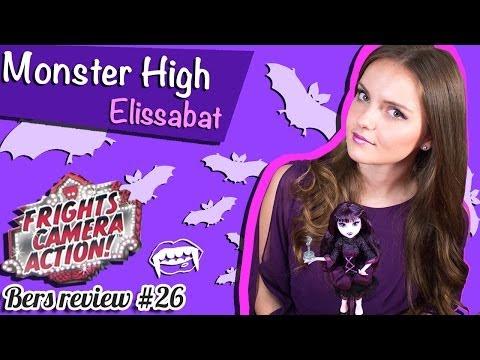 Elissabat Frights, Camera, Action! (Элизабет Страх, Камера, Мотор!) Monster High Обзор BDD87