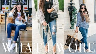 WHAT I WORE - 9 Outfit Ideas | LuxMommy