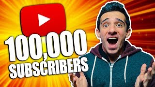 100,000 SUBSCRIBER SPECIAL!