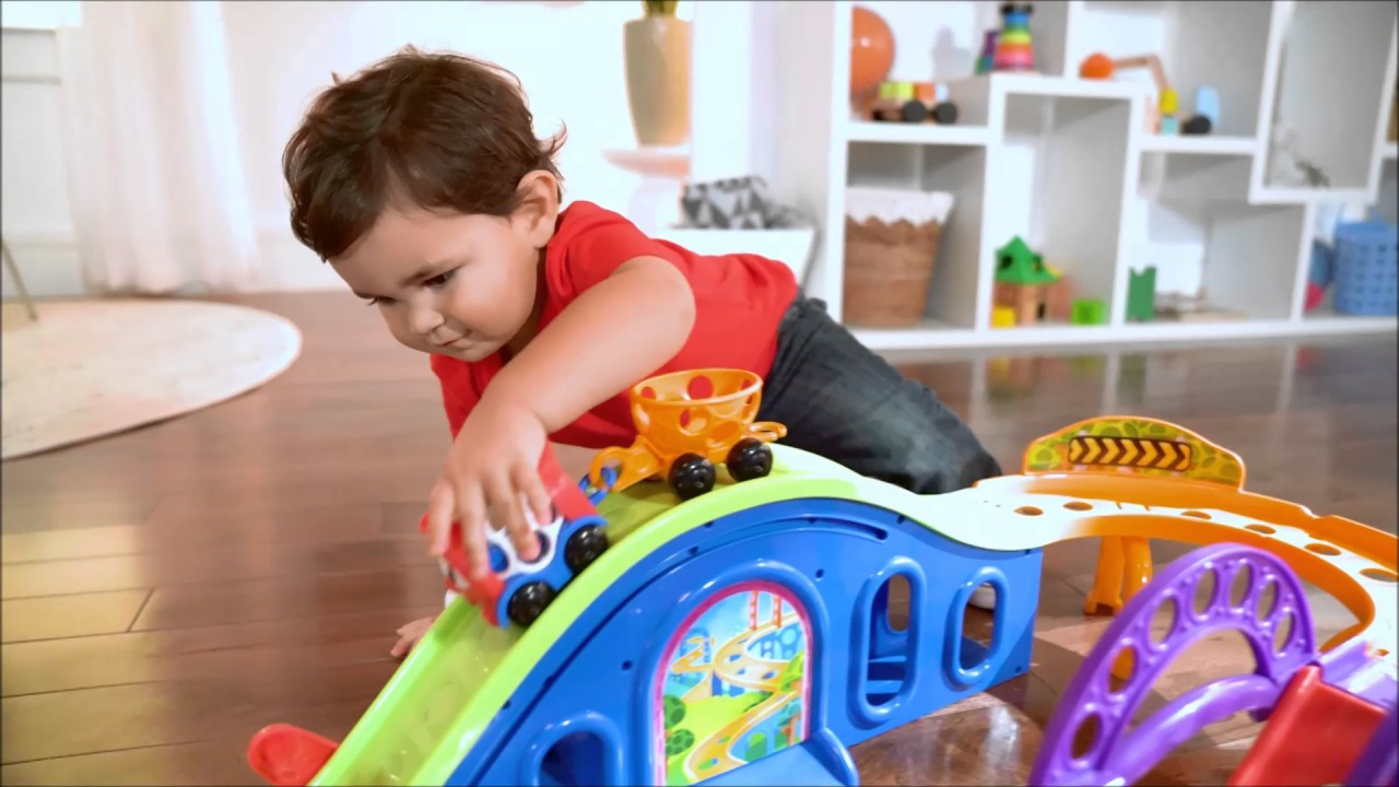 Smyths Toys Oball Go Grippers Train Playset Youtube