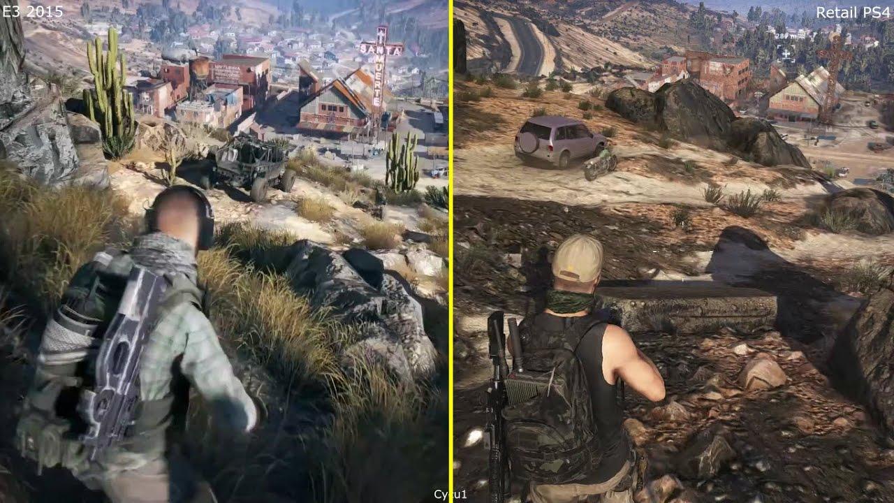 Tom Clancys Ghost Recon Wildlands 2017 Hd Games 4k: Tom Clancy's Ghost Recon Wildlands E3 2015 Vs 2017 Retail