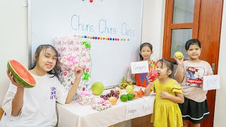 Kids Go To School | Chuns And Best Friends Hide And Seek Contest In The Classroom