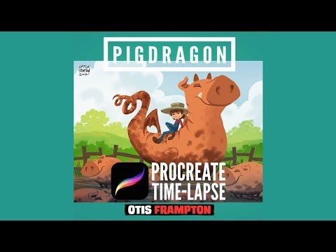 Procreate Time Lapse - Pigdragon