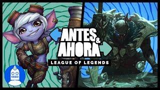 League of Legends -Antes y Ahora- La evolución  (AtomiK.O. #12)
