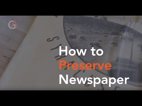 looking at the newspapers without it looking for it