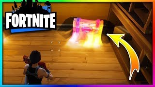 I FOUND THE LOCATION OF THE LEGENDARY SECRET CHEST AT FORTNITE