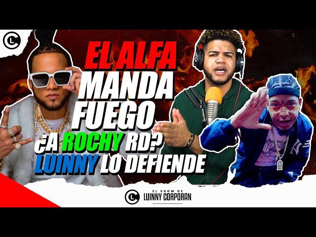 """EL ALFA """"EL JEFE"""" ¿MANDA FUEGO EN INSTAGRAM A ROCHY RD? """"TYGA LO DECLARA EL REY DEL DEMBOW"""""""