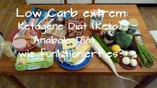 Low Carb extrem: Ketogene Diät (Keto) -- Anabole Diät, wie funktioniert es?