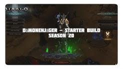 Diablo 3: Dämonenjäger Starter Build (Season 20, Patch 2.6.8)