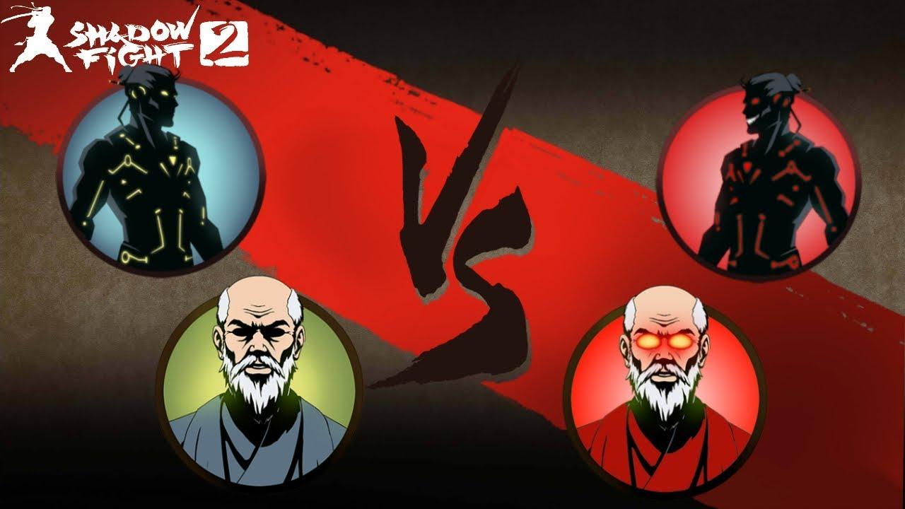 Team Good Vs  Team Evil Shadow Fight 2