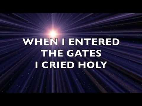 I Bowed on My Knees and Cried Holy by Michael English - LYRIC VIDEO