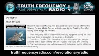 Navy missle instructor describes things that seem to confirm Flat Earth