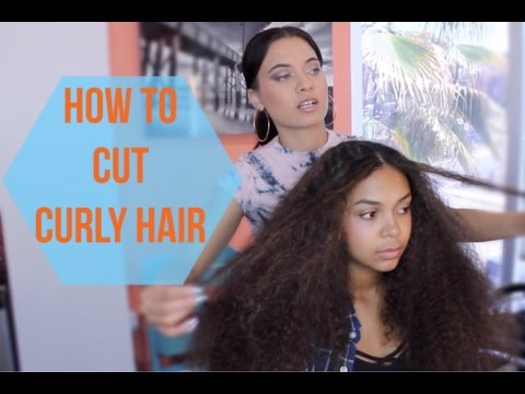 Tutorial: How to Cut Curly Hair