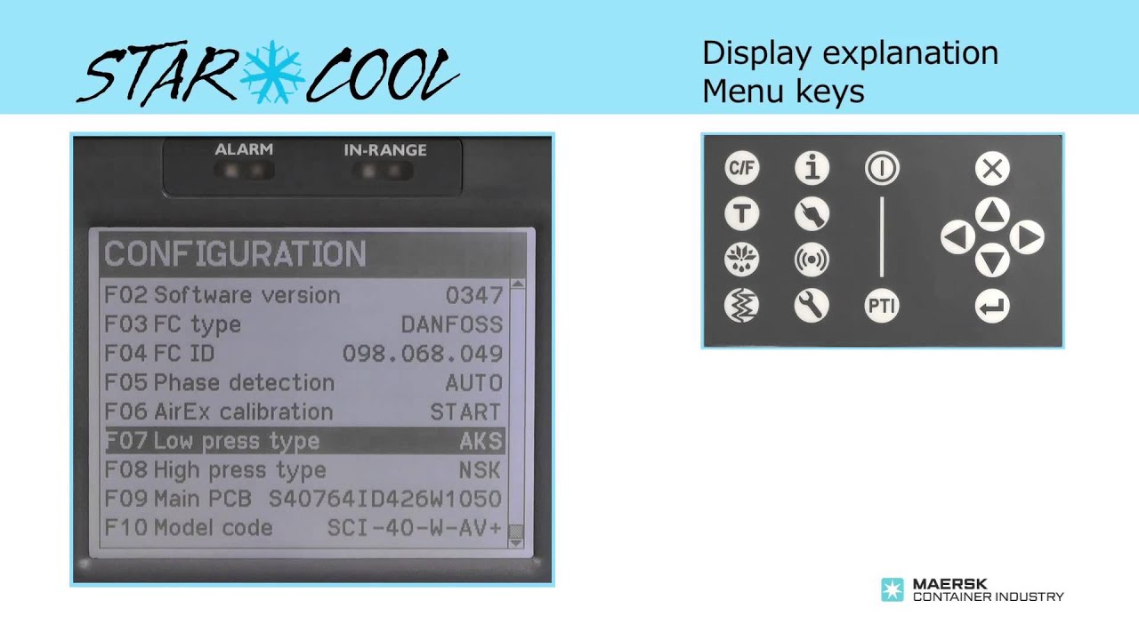 Star Cool Service - Alarm button