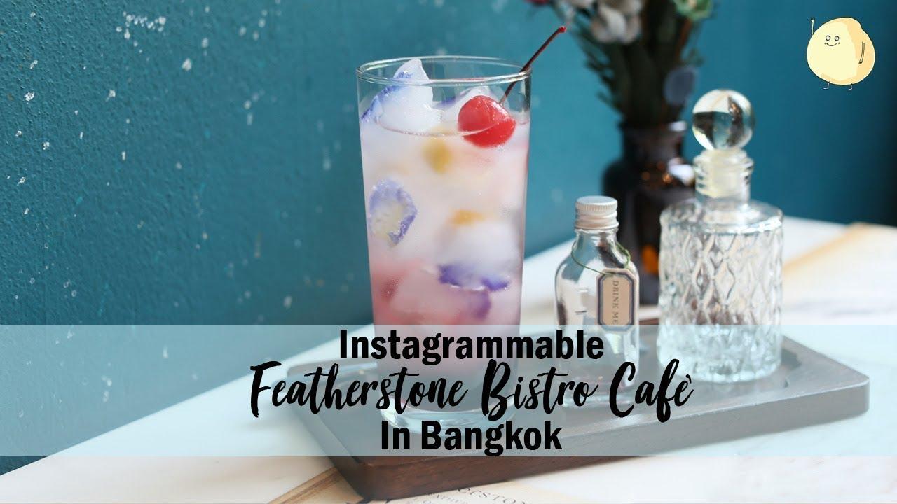 Featherstone Bistro Café & Lifestyle Shop, At Ekkamai Bangkok - YouTube