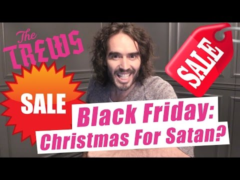 Russell Brand lays into Black Friday in an epic rant