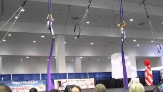 Circus Lab Christmas performance @ Vancouver Convention Centre