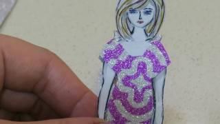 КАК СДЕЛАТЬ ВЕЧЕРНЕЕ ПЛАТЬЕ//ДВУСТОРОННЕЕ// ДЛЯ БУМАЖНОЙ КУКЛЫ//HOW TO MAKE A DRESS FOR PAPER DOLLS(Следующее видео о бумажных куклах смотрите на моём втором канале ИГРОМУРИЯ: https://www.youtube.com/channel/UCYwkitRd2mBAEWxEHbG65aQ., 2017-01-09T12:32:23.000Z)