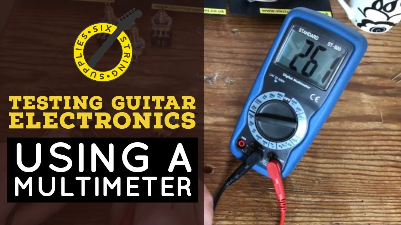 Testing Guitar Electronics Pots Capacitors And The Sg Wiring Capacitor 50 S Continuity Test