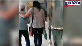 Maritza Garrido Lecca reaparece en clínica de lima.
