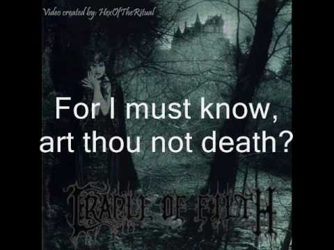 Cradle of Filth - A Gothic Romance with lyrics