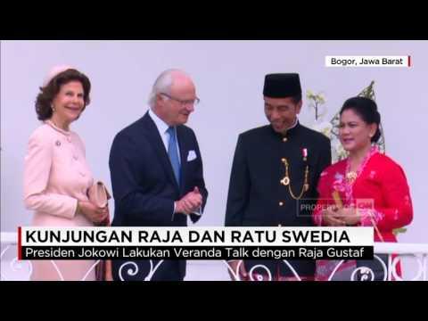 Tampil Beda, Gaya Presiden Joko Widodo Saat Jamu Raja & Ratu Swedia