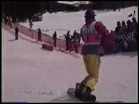 1990 TDK World Halfpipe Chamionship Breckenridge CO Craig Kelly