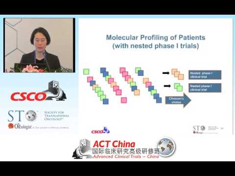 Lillian Siu - Phase 1 Clinical Trials - Objectives Design and Endpoints (Chinese)