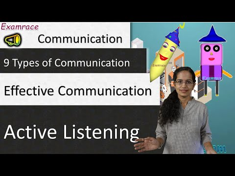 9 Types of Communication, Effective Communication & Active Listening