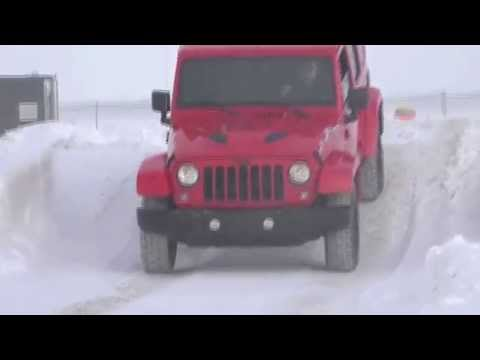 JEEP, Chrysler, Dodge And RAM Trucks Winter Drive In Canada