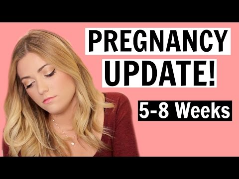 PREGNANCY UPDATE! [5-8 Weeks] Morning Sickness? First Prenatal Visit!
