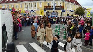 Mělnické vinobraní 2017 - PRŮVOD KRÁLE KARLA IV. / PROCESSION OF KING CHARLES IV.